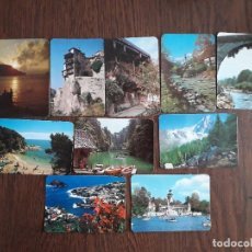 Coleccionismo Calendarios: LOTE DE 10 CALENDARIOS DE SERIE DE PAISAJES Y MONUMENTOS AÑO 1983. Lote 214153375