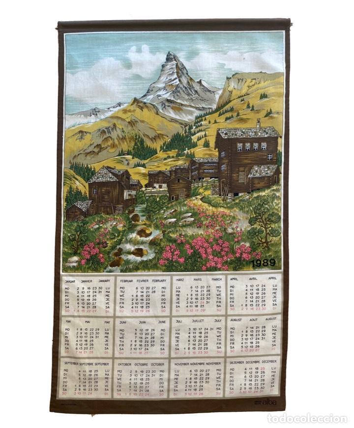 Coleccionismo Calendarios: 21 calendarios alemanes en lino y algodón desde 1988 , preciosos.Muy bien conservados. - Foto 2 - 214754382
