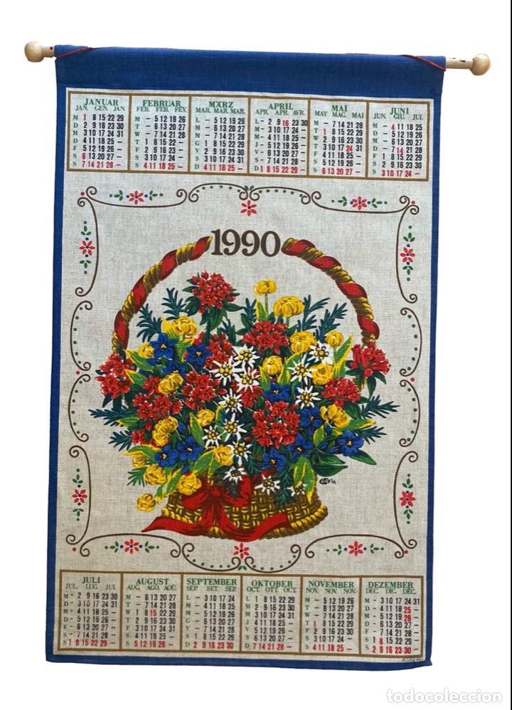 Coleccionismo Calendarios: 21 calendarios alemanes en lino y algodón desde 1988 , preciosos.Muy bien conservados. - Foto 3 - 214754382