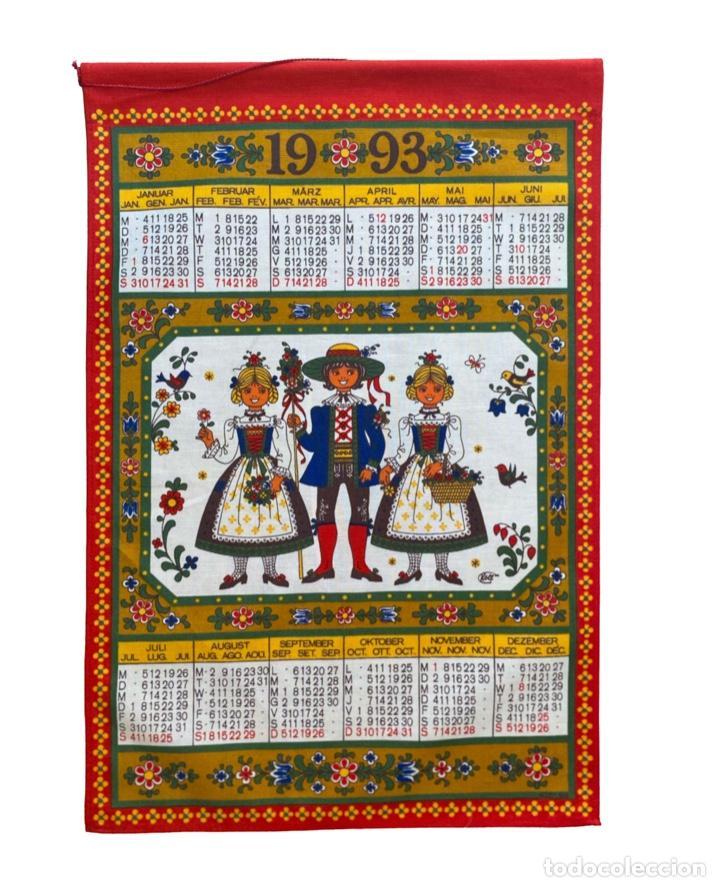 Coleccionismo Calendarios: 21 calendarios alemanes en lino y algodón desde 1988 , preciosos.Muy bien conservados. - Foto 5 - 214754382