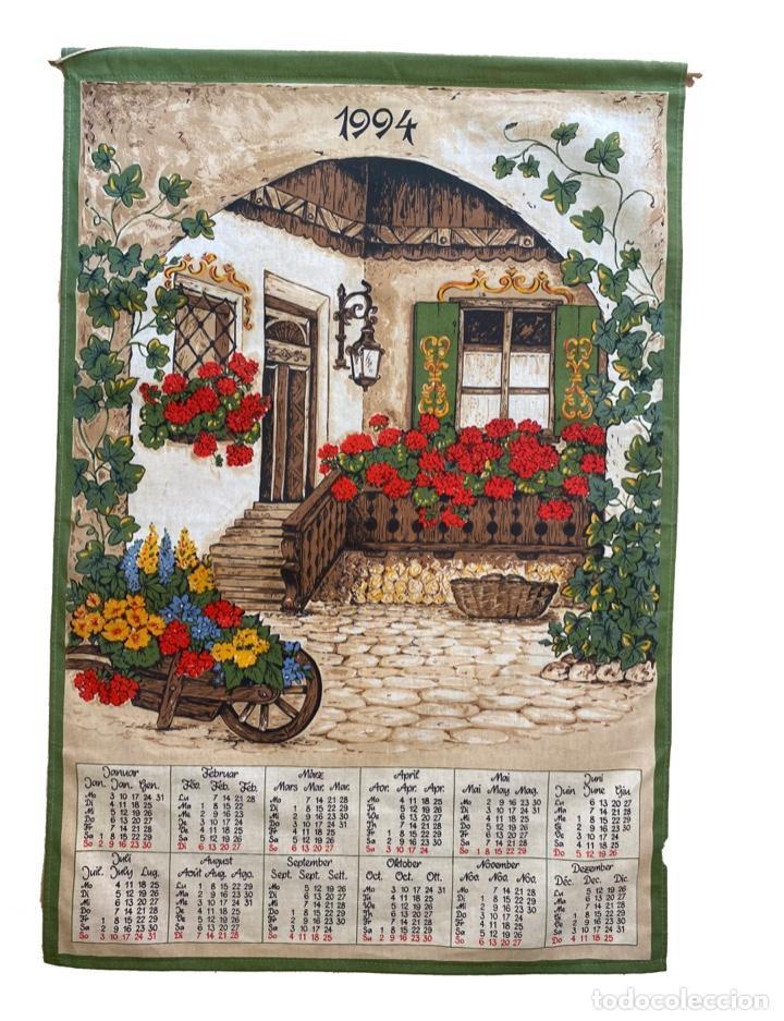 Coleccionismo Calendarios: 21 calendarios alemanes en lino y algodón desde 1988 , preciosos.Muy bien conservados. - Foto 6 - 214754382
