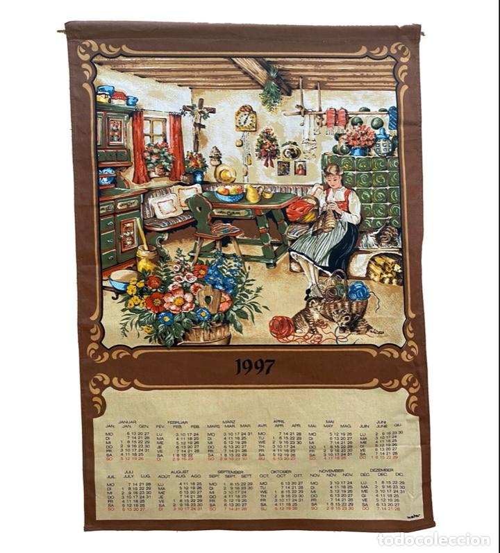 Coleccionismo Calendarios: 21 calendarios alemanes en lino y algodón desde 1988 , preciosos.Muy bien conservados. - Foto 7 - 214754382