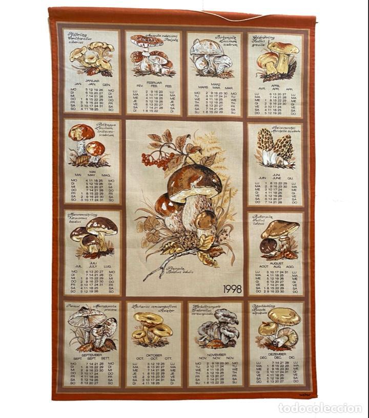 Coleccionismo Calendarios: 21 calendarios alemanes en lino y algodón desde 1988 , preciosos.Muy bien conservados. - Foto 8 - 214754382