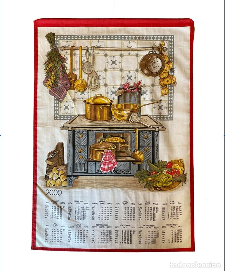 Coleccionismo Calendarios: 21 calendarios alemanes en lino y algodón desde 1988 , preciosos.Muy bien conservados. - Foto 9 - 214754382