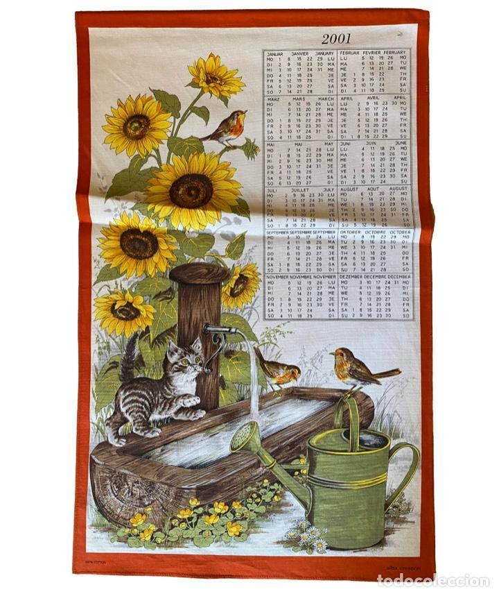 Coleccionismo Calendarios: 21 calendarios alemanes en lino y algodón desde 1988 , preciosos.Muy bien conservados. - Foto 10 - 214754382
