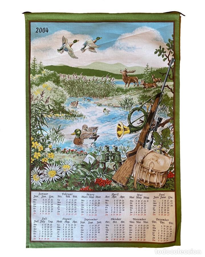 Coleccionismo Calendarios: 21 calendarios alemanes en lino y algodón desde 1988 , preciosos.Muy bien conservados. - Foto 13 - 214754382