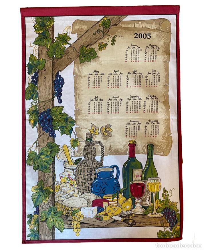Coleccionismo Calendarios: 21 calendarios alemanes en lino y algodón desde 1988 , preciosos.Muy bien conservados. - Foto 14 - 214754382