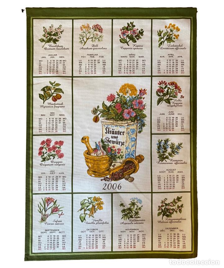 Coleccionismo Calendarios: 21 calendarios alemanes en lino y algodón desde 1988 , preciosos.Muy bien conservados. - Foto 15 - 214754382