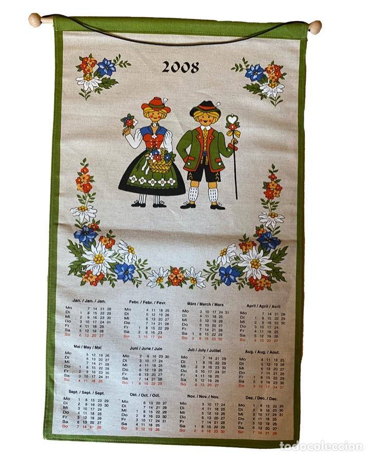 Coleccionismo Calendarios: 21 calendarios alemanes en lino y algodón desde 1988 , preciosos.Muy bien conservados. - Foto 16 - 214754382