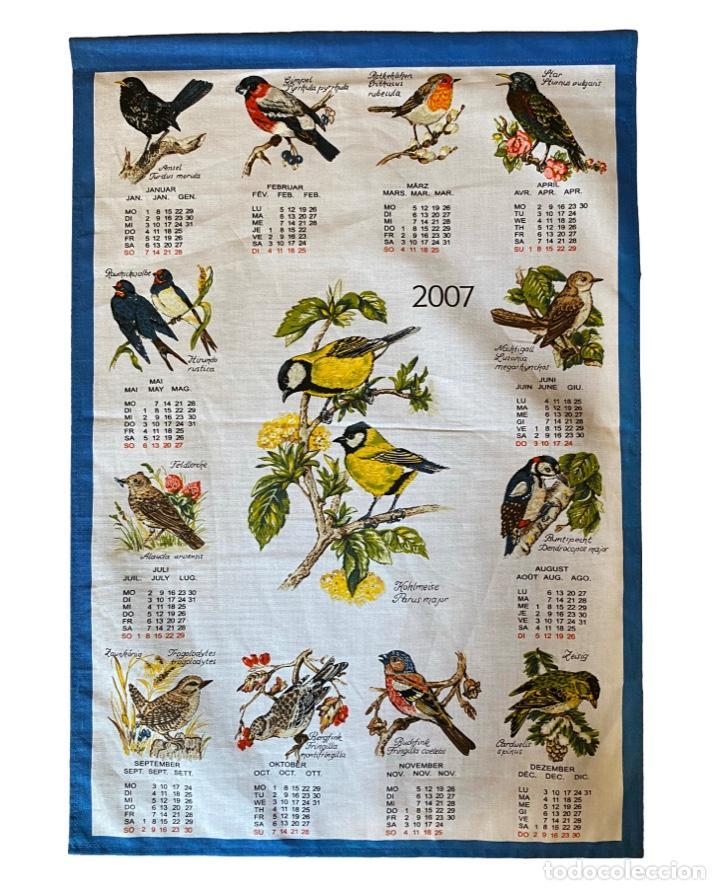 Coleccionismo Calendarios: 21 calendarios alemanes en lino y algodón desde 1988 , preciosos.Muy bien conservados. - Foto 17 - 214754382