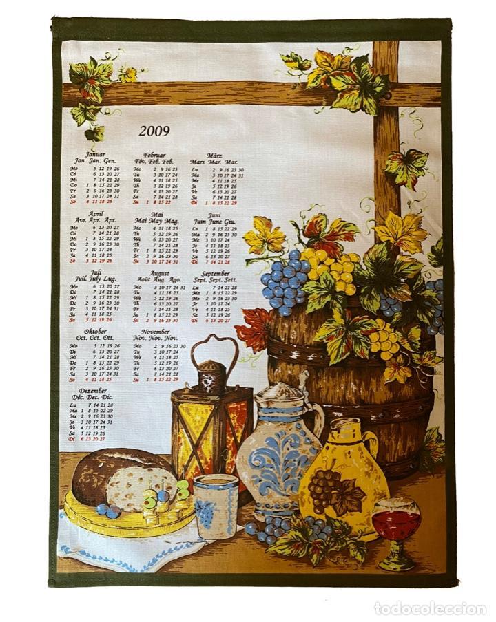 Coleccionismo Calendarios: 21 calendarios alemanes en lino y algodón desde 1988 , preciosos.Muy bien conservados. - Foto 18 - 214754382