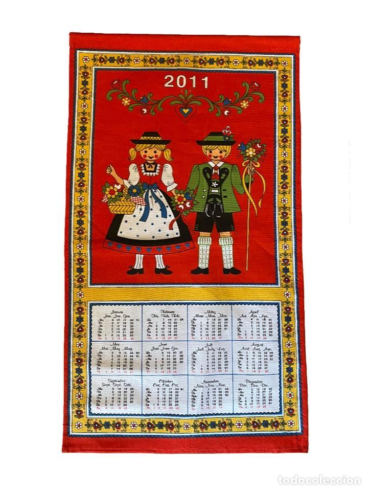 Coleccionismo Calendarios: 21 calendarios alemanes en lino y algodón desde 1988 , preciosos.Muy bien conservados. - Foto 19 - 214754382