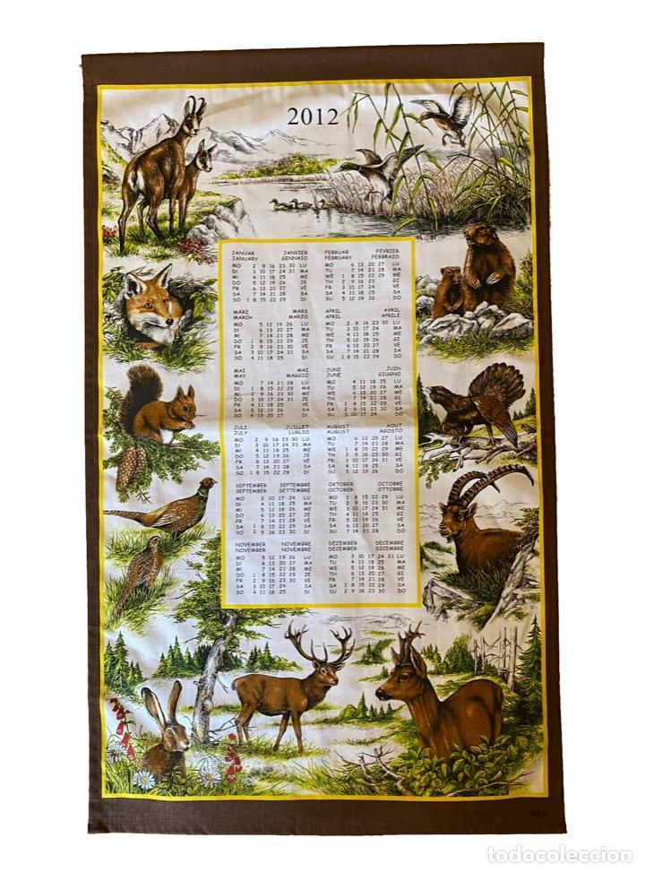 Coleccionismo Calendarios: 21 calendarios alemanes en lino y algodón desde 1988 , preciosos.Muy bien conservados. - Foto 20 - 214754382