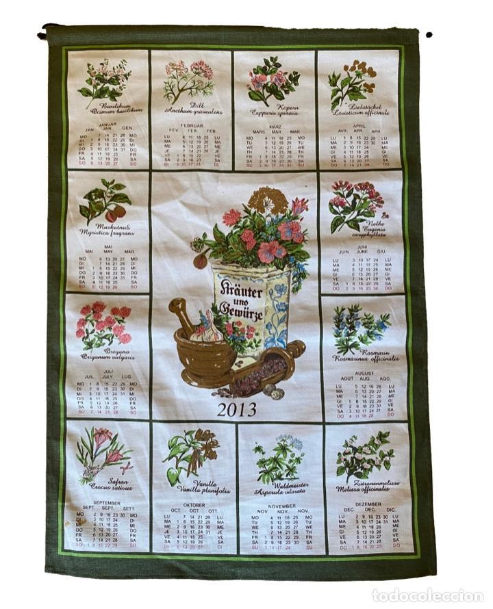 Coleccionismo Calendarios: 21 calendarios alemanes en lino y algodón desde 1988 , preciosos.Muy bien conservados. - Foto 21 - 214754382