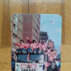 Coleccionismo Calendarios: CALENDARIO CAMION PEGASO. ATHLETIC CLUB DE BILBAO BAJADA DE BEGOÑA. CELEBRACIÓN 1984 CALENDARIO 1985. Lote 214970108