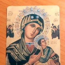 Coleccionismo Calendarios: CALENDARIO MISIONEROS REDENTORISTAS,. VIRGEN PERPETUO SOCORRO. Lote 215316648