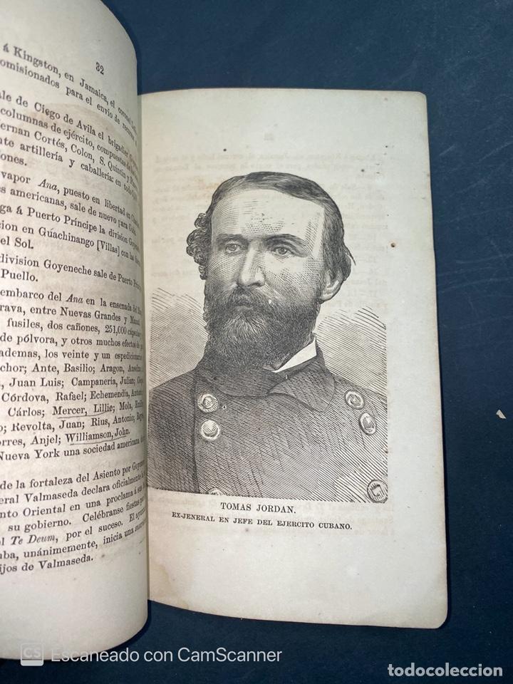 Coleccionismo Calendarios: ALMANAQUE CUBANO. 1871. NUEVA YORK. IMPRENTA HALLET Y BREEN. VER TODAS LAS FOTOS. - Foto 7 - 215989261