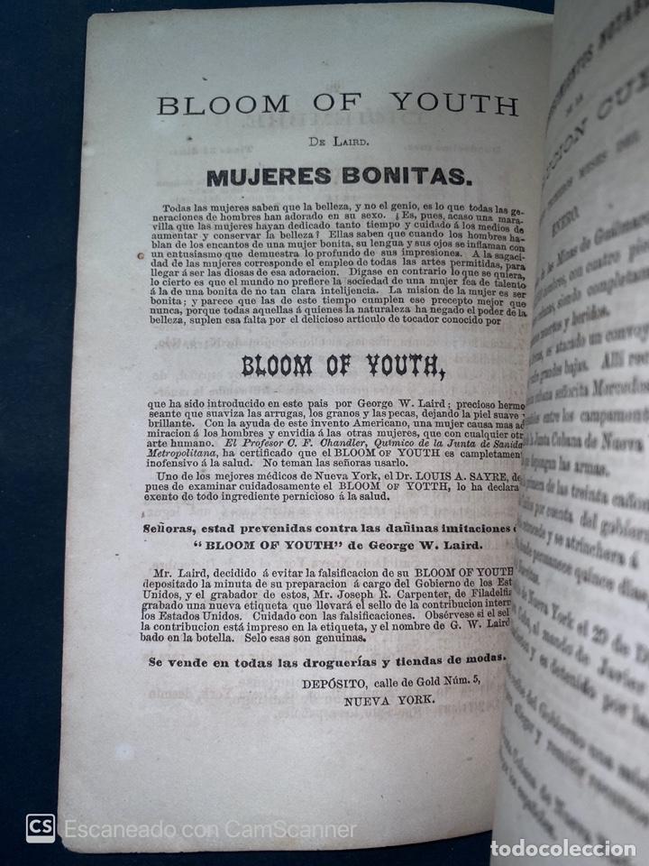Coleccionismo Calendarios: ALMANAQUE CUBANO. 1871. NUEVA YORK. IMPRENTA HALLET Y BREEN. VER TODAS LAS FOTOS. - Foto 16 - 215989261