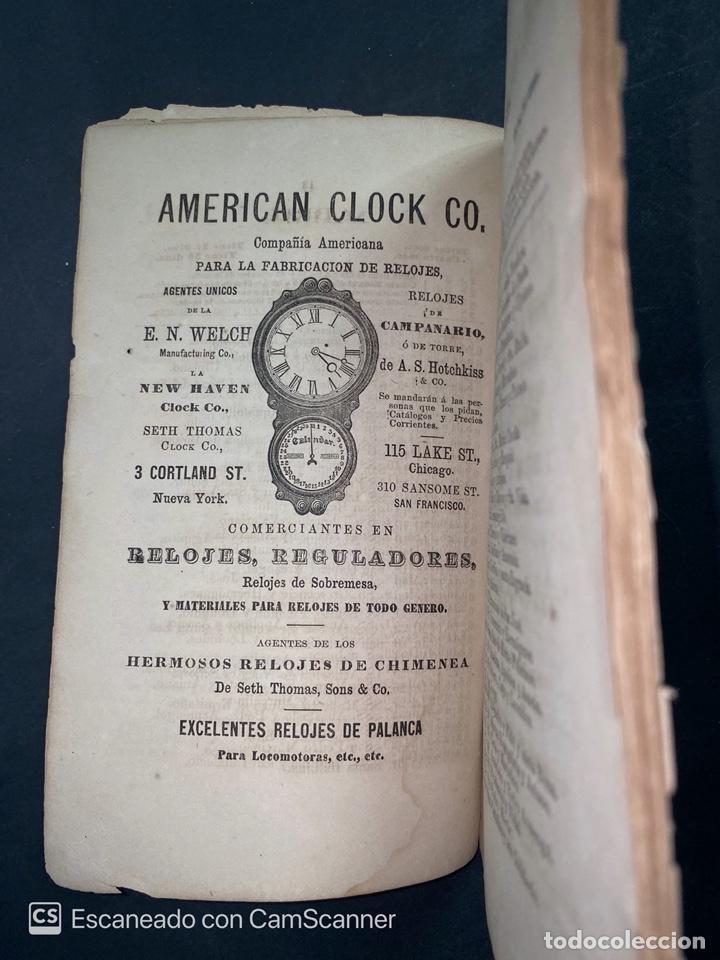 Coleccionismo Calendarios: ALMANAQUE CUBANO. 1871. NUEVA YORK. IMPRENTA HALLET Y BREEN. VER TODAS LAS FOTOS. - Foto 18 - 215989261