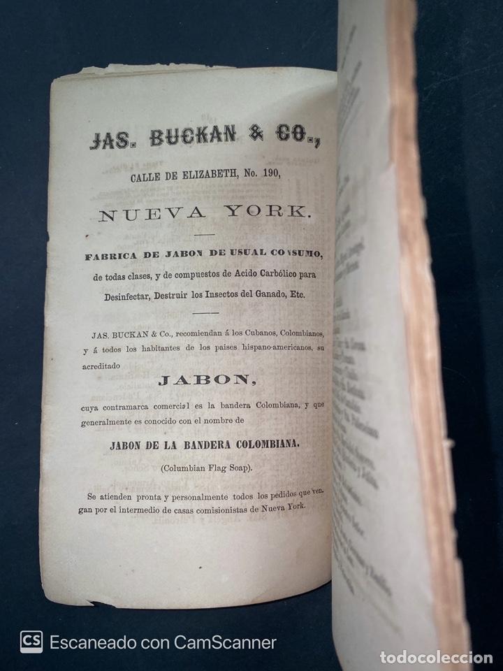 Coleccionismo Calendarios: ALMANAQUE CUBANO. 1871. NUEVA YORK. IMPRENTA HALLET Y BREEN. VER TODAS LAS FOTOS. - Foto 19 - 215989261