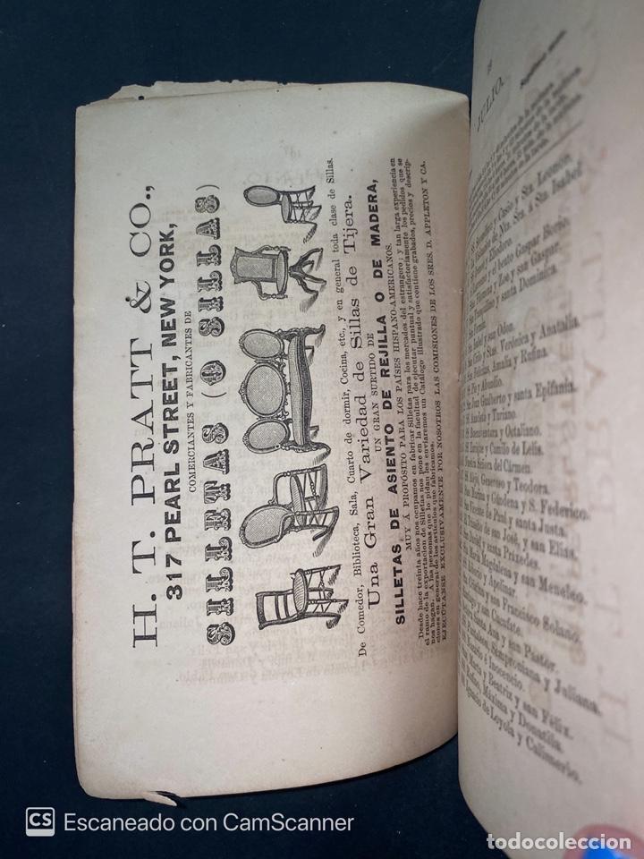 Coleccionismo Calendarios: ALMANAQUE CUBANO. 1871. NUEVA YORK. IMPRENTA HALLET Y BREEN. VER TODAS LAS FOTOS. - Foto 22 - 215989261