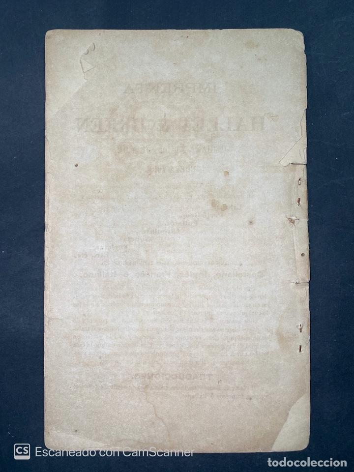 Coleccionismo Calendarios: ALMANAQUE CUBANO. 1871. NUEVA YORK. IMPRENTA HALLET Y BREEN. VER TODAS LAS FOTOS. - Foto 23 - 215989261