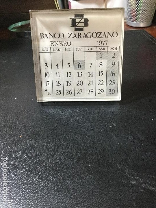 Coleccionismo Calendarios: CALENDARIO BANCO ZARAGOZANO , 1977 , ZARAGOZA - Foto 2 - 216587307