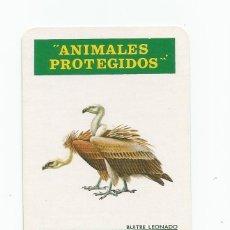 Coleccionismo Calendarios: CALENDARIO FOURNIER 1974 ANIMALES PROTEGIDOS BUITRE LEONADO. Lote 216997950
