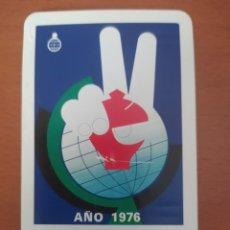 Coleccionismo Calendarios: CALENDARIO FOURNIER CAJA DE AHORROS Y MONTE DE PIEDAD DE VALENCIA AÑO 1976. Lote 217688961