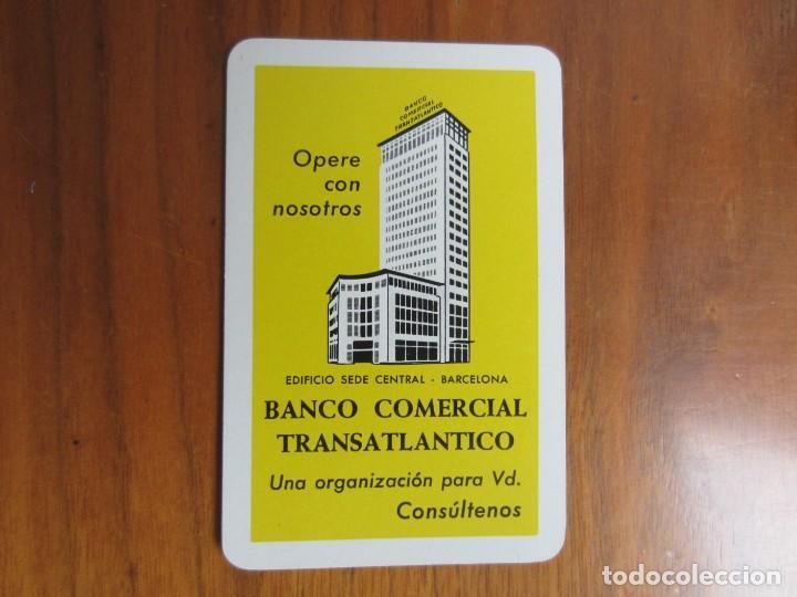 CALENDARIO FOURNIER-BANCO COMERCIALTRANSATLANTICO-DEL 1972 VER FOTOS (Coleccionismo - Calendarios)