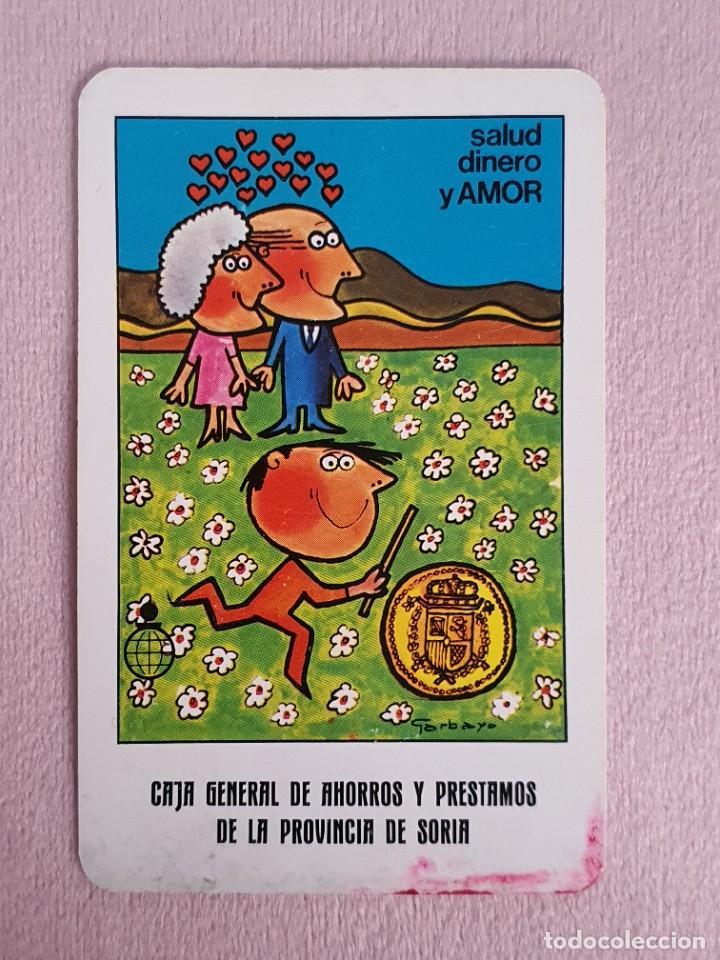 CALENDARIO FOURNIER. AÑO 1984. CAJA GENERAL DE AHORROS Y PRÉSTAMOS DE LA PROVINCIA DE SORIA. (Coleccionismo - Calendarios)