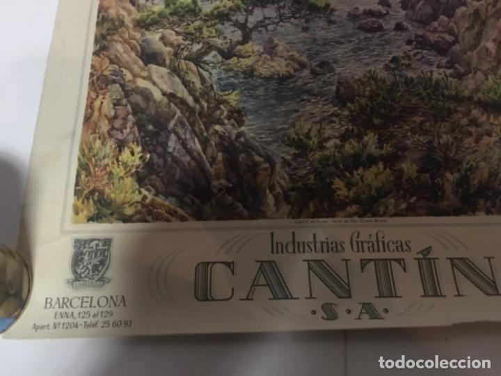 Coleccionismo Calendarios: (M) ANTIGUO CARTEL DE CALENDARIO INDUSTRIAS GRÁFICAS CANTIN S.A. 1954 45,5X40cm. - Foto 3 - 218022073