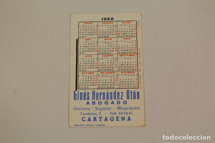 Coleccionismo Calendarios: calendario granada 1968 - Foto 2 - 218222590