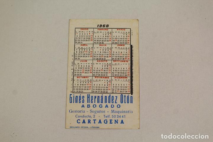 Coleccionismo Calendarios: calendario rosas 1968 - Foto 2 - 218222743