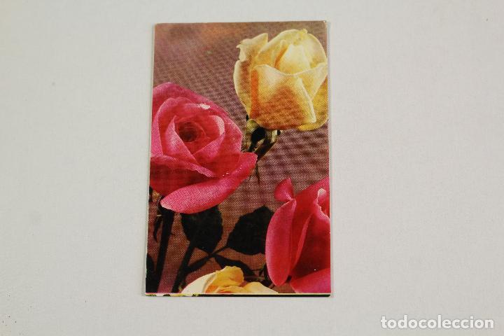 CALENDARIO ROSAS 1968 (Coleccionismo - Calendarios)