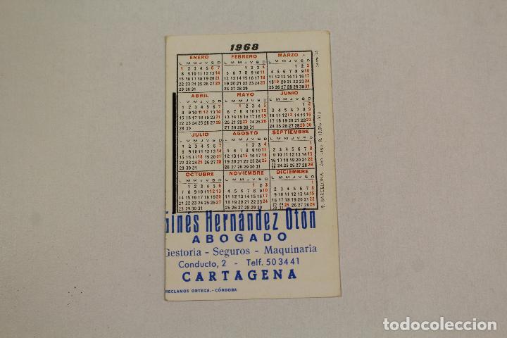Coleccionismo Calendarios: calendario barcelona 1968 - Foto 2 - 218223312