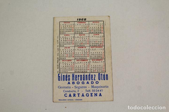 Coleccionismo Calendarios: calendario elvis presley 1968 - Foto 2 - 218223511