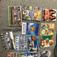 Coleccionismo Calendarios: CALENDARIOS REAL SOCIEDAD. Lote 218240521