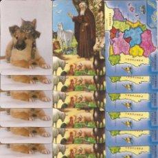 Coleccionismo Calendarios: LOTE DE CALENDARIOS. Lote 218242055
