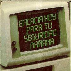 Coleccionismo Calendarios: CALENDARIO PUBLICIDAD - 1987 - FITC - FEDERACIÓN INDEPENDIENTE TRABAJADORES DEL CRÉDITO. Lote 218242541
