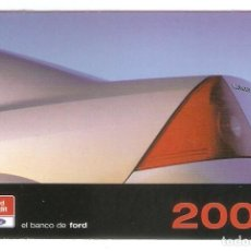 Coleccionismo Calendarios: CALENDARIO DE BOLSILLO PUBLICITARIO AÑO 2001 COCHE - FORD CREDIT - FORD MONDEO. Lote 218491548