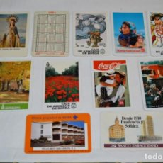 Coleccionismo Calendarios: LOTE / 11 CALENDARIOS VARIADOS FOURNIER - AÑOS 60, 70, 80 Y 90 - BUEN ESTADO ¡MIRA FOTOS/DETALLES!. Lote 218530176