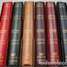 Coleccionismo Calendarios: OFERTA ¡¡¡¡3 ÁLBUMES CALENDARIOS DE BOLSILLO 27X33CM.4 ANILLAS STANDARD. Lote 218605706