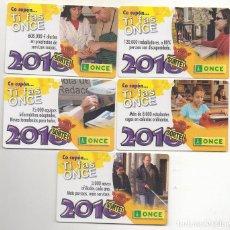 Collectionnisme Calendriers: CINCO CALENDARIOS DE LA ONCE 2010 MESES EN GALLEGO. Lote 218639742