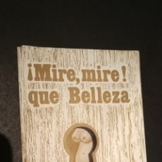 Coleccionismo Calendarios: CALENDARIO TROQUELADO 1996 MIRE MIRE QUE BELLEZA. Lote 218660940