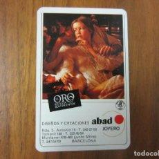 Coleccionismo Calendarios: CALENDARIO FOURNIER-ABAD JOYERO-DEL 1978 VER FOTOS. Lote 218760312