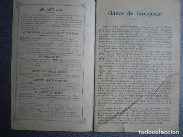 Coleccionismo Calendarios: ALMANAQUE PARA 1911 PÍLDORAS PINK - 32 PÁGINAS MÁS TAPAS. - Foto 2 - 218991472