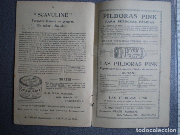 Coleccionismo Calendarios: ALMANAQUE PARA 1911 PÍLDORAS PINK - 32 PÁGINAS MÁS TAPAS. - Foto 4 - 218991472