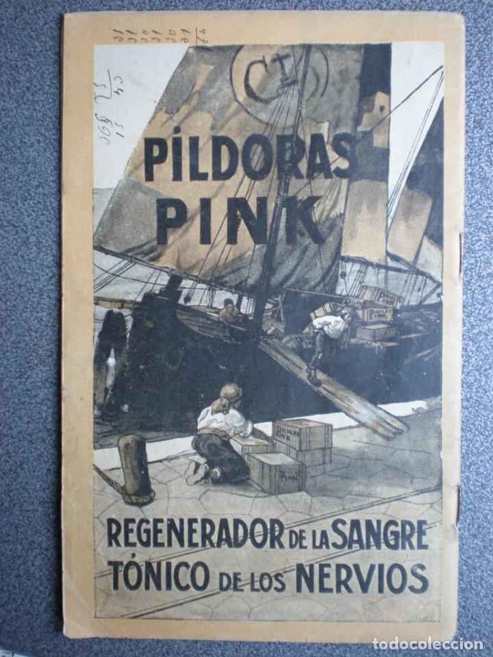 Coleccionismo Calendarios: ALMANAQUE PARA 1911 PÍLDORAS PINK - 32 PÁGINAS MÁS TAPAS. - Foto 5 - 218991472