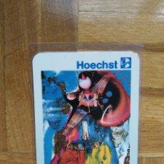 Coleccionismo Calendarios: CALENDARIO PUBLICITARIO HOECHST. SALVADOR DALI AÑO 1994. VER FOTO ADICIONAL. PLASTIFICADO. Lote 219156755
